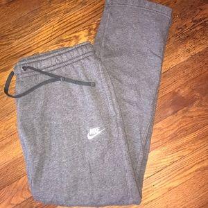 Nike gray sweatpants Men's size Medium
